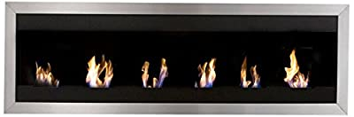 Bio-Blaze BB-SQXL1 Wall-Mounted Bioethanol Fireplace Square XL I