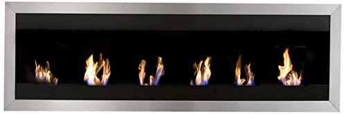 Bio-Blaze BB-SQXL1 Wall-Mounted Bioethanol Fireplace Square XL I