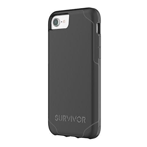 Griffin Survivor Hard Case for iPhone 7, 6s, 6, Black Griffin Haut