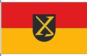 Tischfähnchen Eckenroth - Tischflaggenständer aus Holz