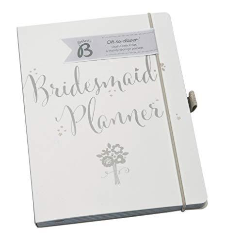 BusyB Bride to B -Taccuino della damigella d'onore, colore: Bianco