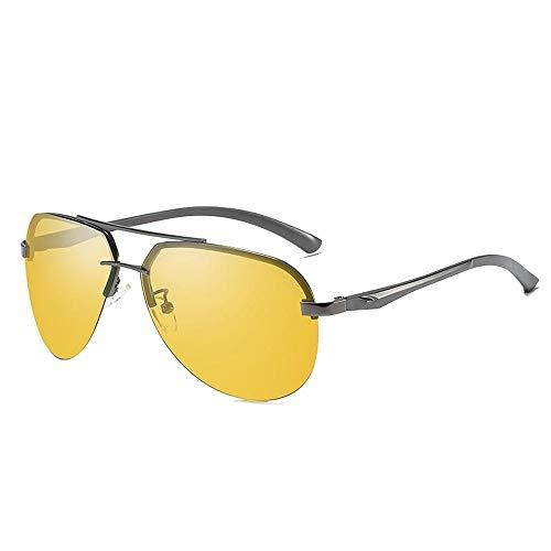 Easy Go Shopping Männer und Frauen Sonnenbrille Muschel Brille Classic Driver Fahren nachtsichtbrille polarisierende Sonnenbrille für Sonnenbrillen und Flacher Spiegel