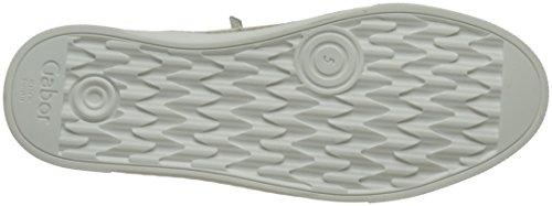 Gabor Damen Comfort Sneakers Weiß (weiss 50)