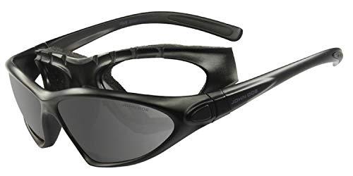 John Doe Brille Five Star - Motorrad-Sonnenbrille für Biker - auf dem Bike oder in der Freizeit bequem zu tragen.