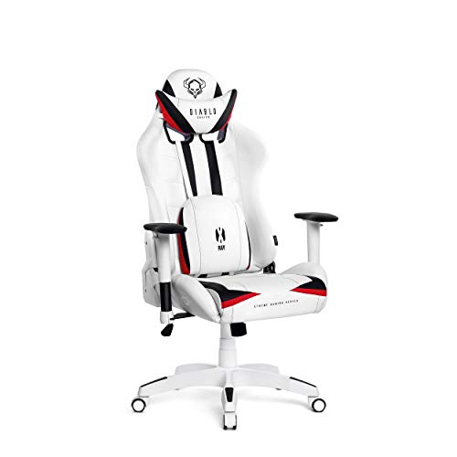 Diablo X-Ray Gaming Chaise Fauteuil Gamer Accoudoirs 2D Design Ergonomique Skaï Perforation...