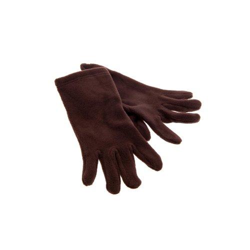 Earbags Glooove Fleece Futter Winter Handschuhe Warm Weich Leicht Kinder Damen Herren Glove, Farbe braun, Größe M