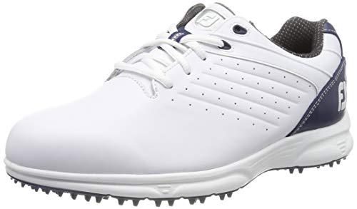 Herren-arc (Footjoy Herren Fj Arc Sl Golfschuhe, Weiß (Blanco/Azul Navy 59704w), 46 EU)
