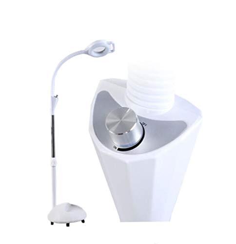 BAI 16X LED Lámpara Lupa Ajustable Rotativo Telescópico Regulable para Protección De...