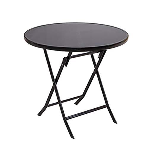 WZHFOLDINGTABLE Table Pliante Ordinateur Table Camping Outdoor Garden Square Table À Manger Table Basse Ensemble De Thé Table Pliante, Multi-Taille en Option (Taille : 60 * 60 * 72cm)