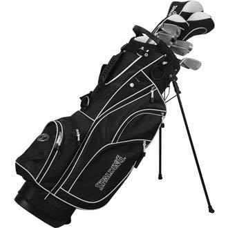 Spalding Tour Ensemble de Golf pour Homme, Noir, Taille Unique