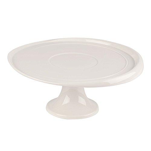 Villeroy & Boch Clever Baking Kuchenplatte, 32 cm, Premium Porzellan, Weiß