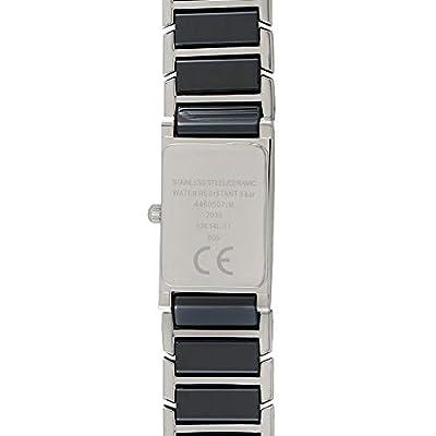 Dugena 4460507 - Reloj analógico de Cuarzo para Mujer, Correa de cerámica Color Negro de Dugena