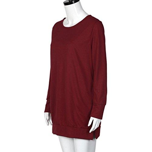 Transer - Pull - Femme blanc blanc S red