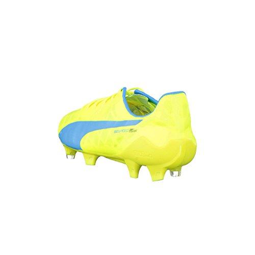 Puma - Evospeed Sl Fg, Scarpe da calcio Uomo giallo fluo/blu