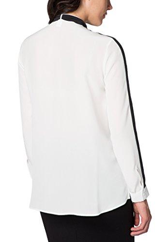 ETERNA Langarm Bluse MODERN FIT unifarben Weiß