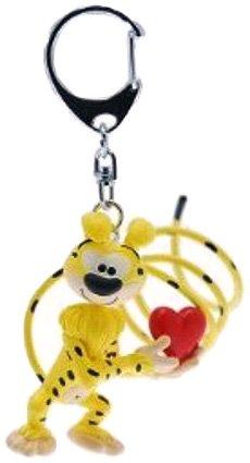 Preisvergleich Produktbild Plastoy SAS PLA65061 - Schlüsselanhänger, Marsupilami mit Herz