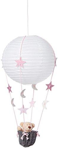 Pasito a Pasito Globo Banderola - Lámparas, unisex, color rosa
