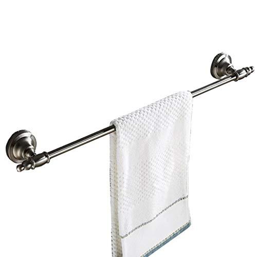 W TOWEL RACK Handtuchhalter, 25 Zoll Handtuchhalter 304 Edelstahl gebürstet Handtuchstange Wandmontage Handtücher Kleiderbügel for Bad, Waschraum, Küche Größe: 63,5 lang -