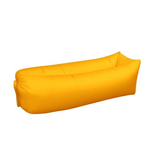 Aufblasbares Ruhesessel-Luft-Stuhl-Sofa, Kompressionsmaterial-Sack Mit Kopflehne Für Das Kampierende Picknick, Das Auf Reisen, Aufblasbare Couch-Hängematte Für Pool Draußen Oder Drinnen Wandert,E