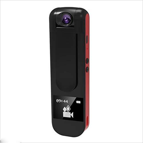 Digitalrekorder, 1080P HD-Kamera, Tragbarer MP3-Player Mit Drehbarer Linse Webcam ( Color : Red ) -