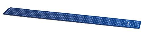Dörr 102067 Schneidematte für Passepartout-Schneider, 75 cm, 3-lagiges Kunststoffmaterial, Stärke 3 mm, blau