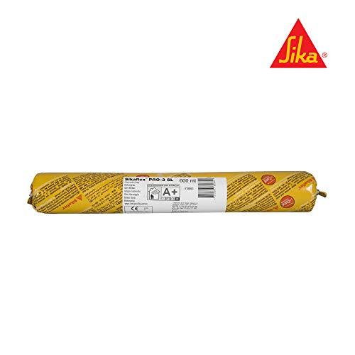 SikaFlex Pro-3 SL i-Cure - Spachtelmasse für elastische Bodenfugen - Sika - 600 ml beutel, Beton grau