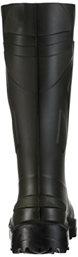 Stivali professionali Dunlop Purofort + verde scuro / nero, senza puntale in acciaio - D760933 Verde (Groen 08)
