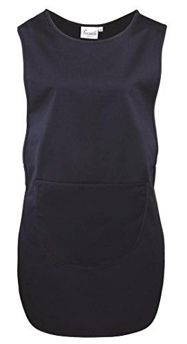 Premier Workwear Ladies Pocket Tabard, Tank Top Uomo blu navy