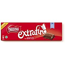 Nestlé Extrafino Chocolate Con Leche - Tableta de Chocolate - 15x300 g