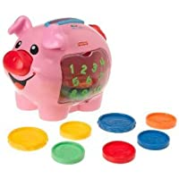 Preisvergleich für Fisher-Price Laugh & Learn: Learning Piggy Bank With 10 Colorful Coins - Make Learning More Fun Toy / Game / Play / Child / Kid by Toys4U