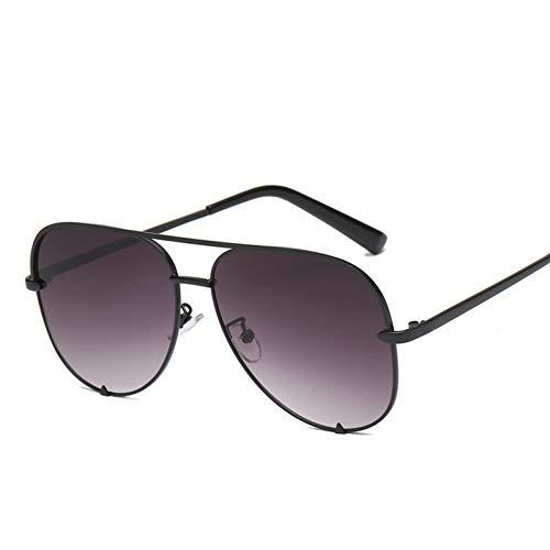 Taiyangcheng Sonnenbrille Silber Spiegel Metall Sonnenbrille Pilot Aviator Sonnenbrille Frauen Männer Shades,C8