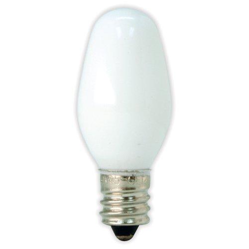 GE LIGHTING 205734Watt Nachtlicht Weiß, C74CD, 4er Pack (4w Nachtlicht)