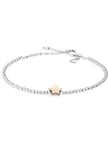 Bracciale donna comete stelle in argento 925 bra155