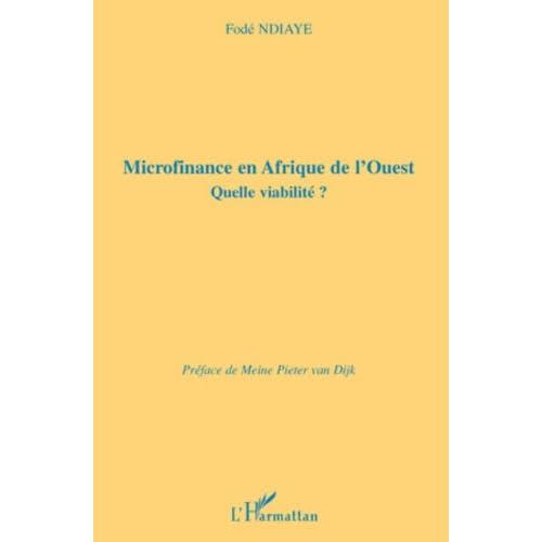 Microfinance en Afrique de l'Ouest : Quelle viabilité ?