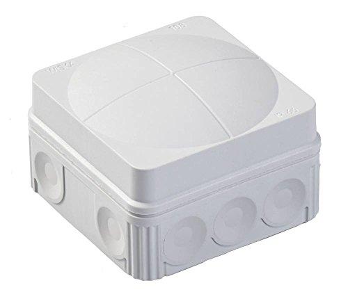 IP66 Gris étanche Boîte de dérivation IP66 terminal 76 x 76 x 51 Wiska Combi 108 leer Boîte de jonction électrique