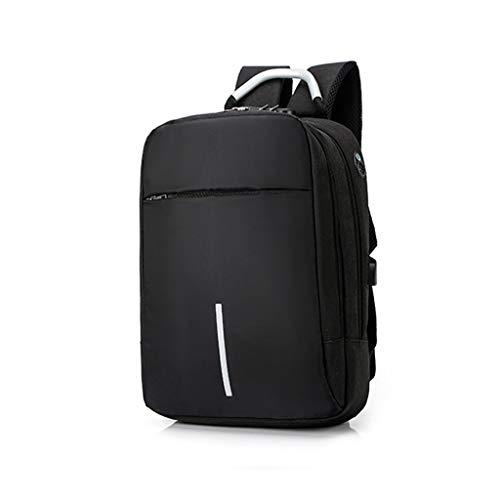 COMBFQY FH Outdoor-Freizeitrucksack, 14-Zoll-Laptop-Rucksack, Sicherheits-Diebstahlsicherung/Nachtreflektierstreifen Großraumrucksack Business-Reiserucksack,