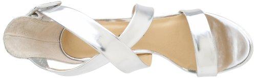 Chinese Laundry Black Jack Damen Synthetik Sandale Mirror Silver