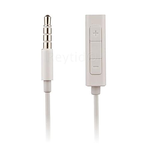 reytid® Casque câble adaptateur w/télécommande et contrôle du volume–Écouteurs Câble auxiliaire Télécommande Apple iPod shuffle 3ème 4ème 5ème génération et Nano 4e 5e 6e 7e 8E génération Classic