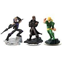 Disney Infinity 2.0: Hawkeye / Nick Fury / Iron Fist (3-Pack) Loose