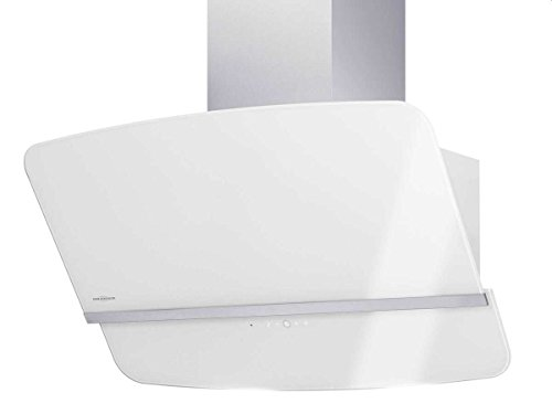 Oranier Rota 75 W - 8672 75 Kopffrei Wandhaube Weiß Wandabzug Schrägesse Küche