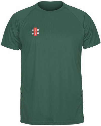 GRAY-NICOLLS Herren Matrix Short Sleeve T-Shirt XS grün Preisvergleich