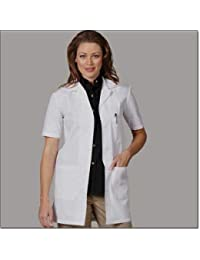 8b1a7d8ed9a PrimeSurgicals Women s Lab Coat With 100 Days Warranty Half Sleeves Size  (46 • XXX Large