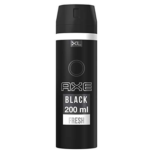 AXE Black - Desodorante Bodyspray para hombre, 48 horas de...