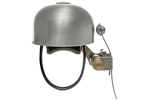 CRANE Bell Co. Fahrradklingel E Ne W Clamp Band Mount Silber 3.7 x 3.7 x 5 cm