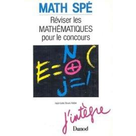 Math sp : Rviser les mathmatiques pour le concours