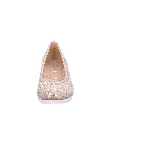 Gabor Damen Comfort Geschlossene Ballerinas silk (Jute)