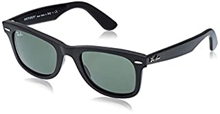 Ray-Ban - Lunette de soleil Wayfarer Wayfarer - Homme, Noir (B001GNBJNW) | Amazon price tracker / tracking, Amazon price history charts, Amazon price watches, Amazon price drop alerts