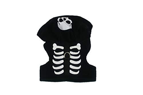 Black Duck Brand Halloween-Kostüm, Schwarze Ente Passend für 15,2 cm bis 22,9 cm - Kürbis, Engel, Skelett, Small, Skeleton Costume