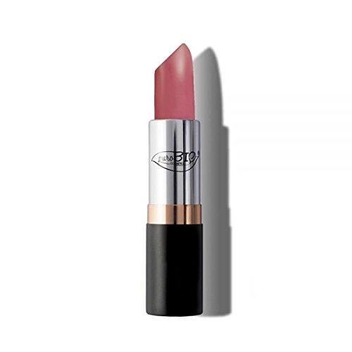 PUROBIO - Rouge à Lèvres n. 09 - Rose Foncé - Hydratant, Texture Douce, Riche en Couleur, Semi-Matte Finish - Nickel Testé, Produits Biologique