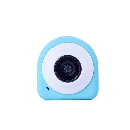Telecamera sportiva portatile Telecamera di azione digitale senza fili Bluetooth da 145 gradi (Colore: blu)